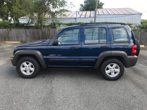 2003 Jeep Liberty for sale at Mike's Auto Sales of Charlotte in Charlotte NC