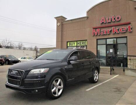 2012 Audi Q7 for sale at Auto Market in Oklahoma City OK