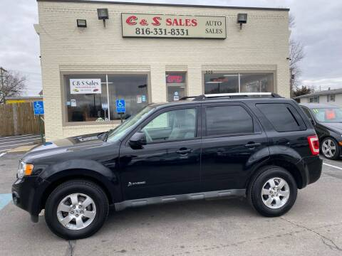 2009 Ford Escape Hybrid for sale at C & S SALES in Belton MO