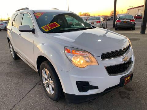 2012 Chevrolet Equinox for sale at Top Line Auto Sales in Idaho Falls ID