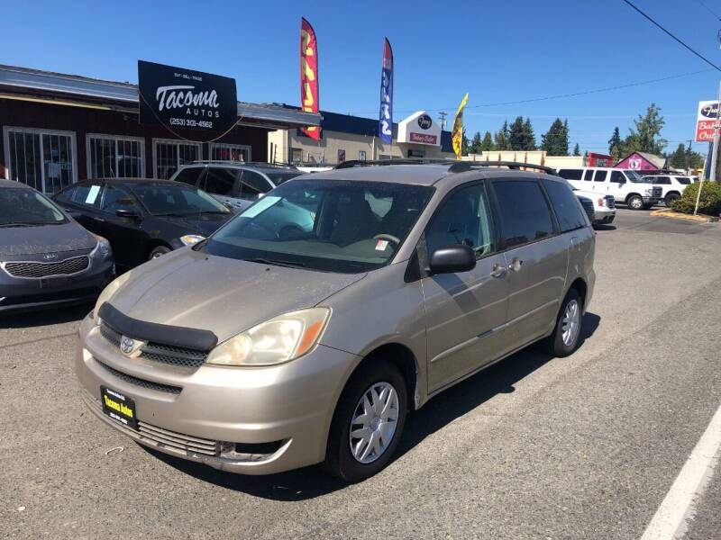 2005 Toyota Sienna for sale at Tacoma Autos LLC in Tacoma WA