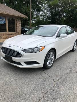 2018 Ford Fusion for sale at FRANK E MOTORS in Joplin MO