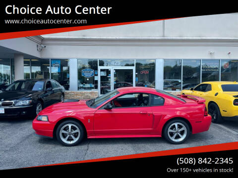 2003 Ford Mustang for sale at Choice Auto Center in Shrewsbury MA