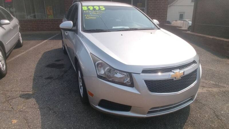 2014 Chevrolet Cruze for sale at IMPORT MOTORSPORTS in Hickory NC