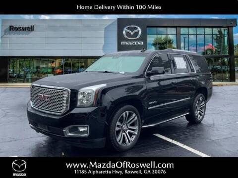 2017 GMC Yukon for sale at Mazda Of Roswell in Roswell GA