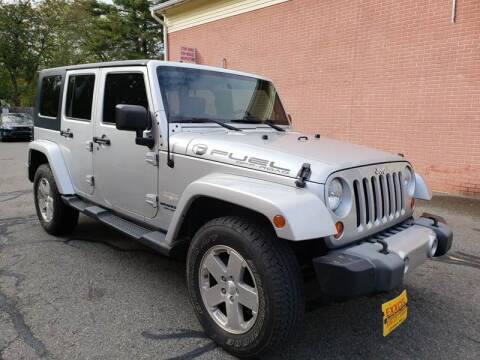 2009 Jeep Wrangler Unlimited for sale at Exxcel Auto Sales in Ashland MA