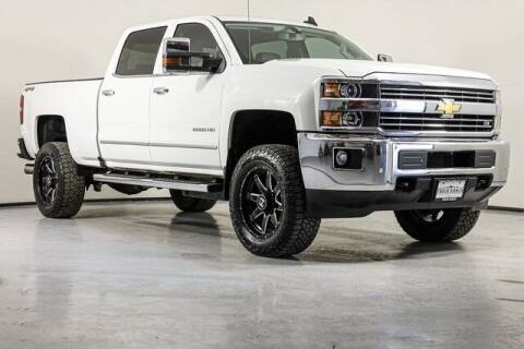 2016 Chevrolet Silverado 2500HD for sale at Truck Ranch in Twin Falls ID