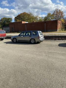 2007 Subaru Forester for sale at TRAIN STATION AUTO INC in Brownsville PA