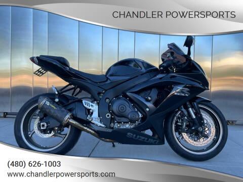 2009 Suzuki GSX-R 750 for sale at Chandler Powersports in Chandler AZ