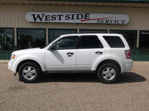 2011 Ford Escape for sale at West Side Service in Auburndale WI