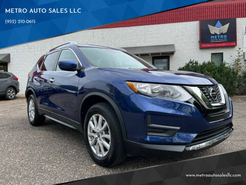 2019 Nissan Rogue for sale at METRO AUTO SALES LLC in Blaine MN