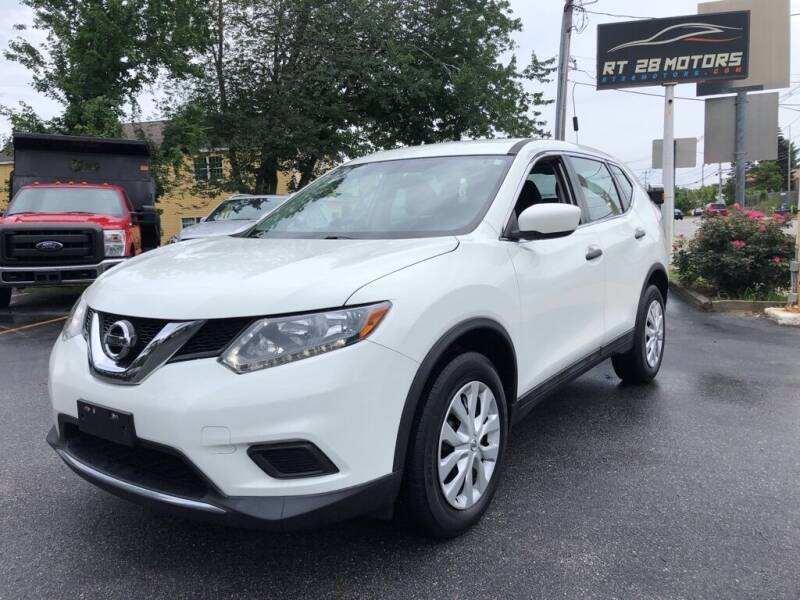 2016 Nissan Rogue for sale at RT28 Motors in North Reading MA