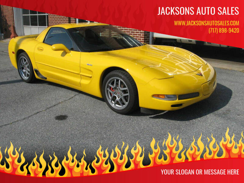 2002 Chevrolet Corvette for sale at Jacksons Auto Sales in Landisville PA