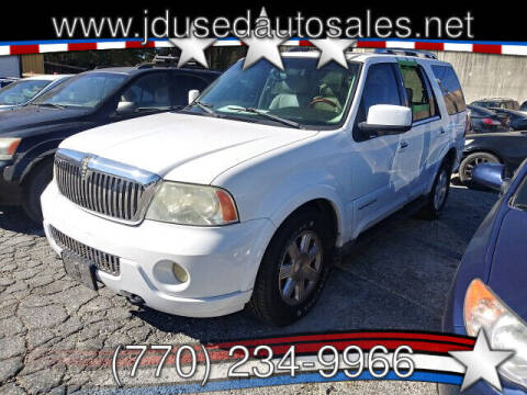 2003 Lincoln Navigator for sale at J D USED AUTO SALES INC in Doraville GA