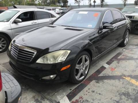 2007 Mercedes-Benz S-Class for sale at SoCal Auto Auction in Ontario CA