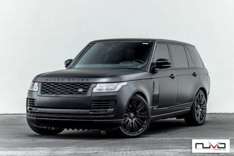2020 Land Rover Range Rover for sale at Nuvo Trade in Newport Beach CA