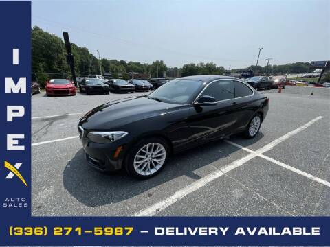 2016 BMW 2 Series for sale at Impex Auto Sales in Greensboro NC