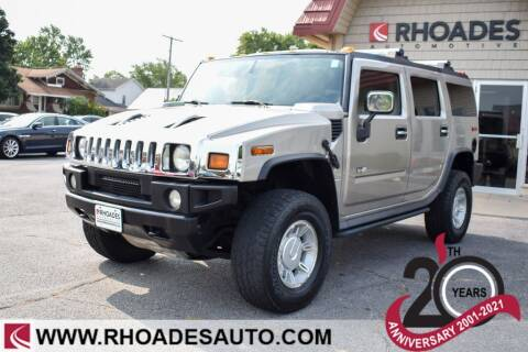 2004 HUMMER H2 for sale at Rhoades Automotive Inc. in Columbia City IN