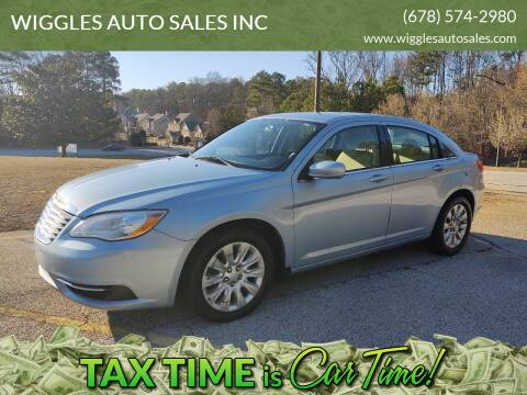 2013 Chrysler 200 for sale at WIGGLES AUTO SALES INC in Mableton GA
