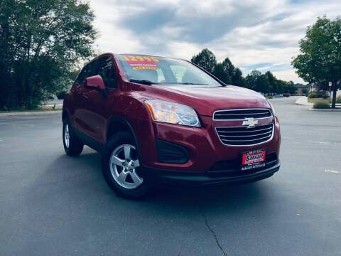 2015 Chevrolet Trax for sale at Bargain Auto Sales LLC in Garden City ID