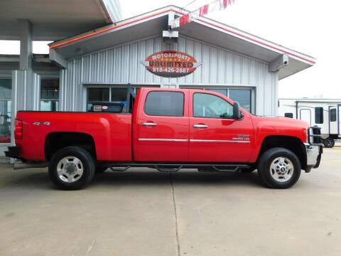 2013 Chevrolet Silverado 2500HD for sale at Motorsports Unlimited in McAlester OK