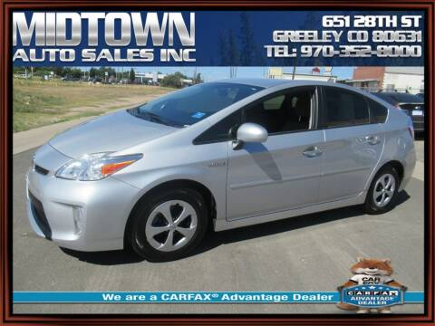 2015 Toyota Prius for sale at MIDTOWN AUTO SALES INC in Greeley CO