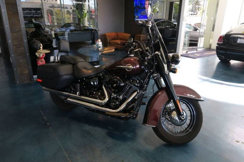 2018 Harley-Davidson Heritage Classic for sale at OC Autosource in Costa Mesa CA