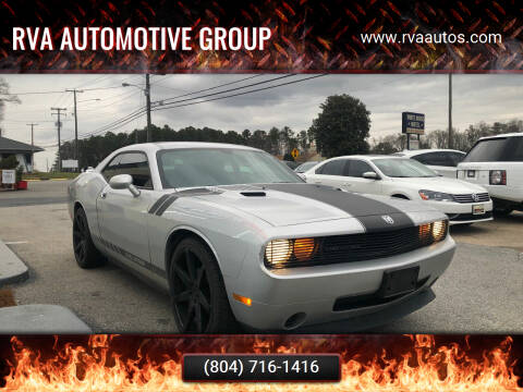 2010 Dodge Challenger for sale at RVA Automotive Group in North Chesterfield VA