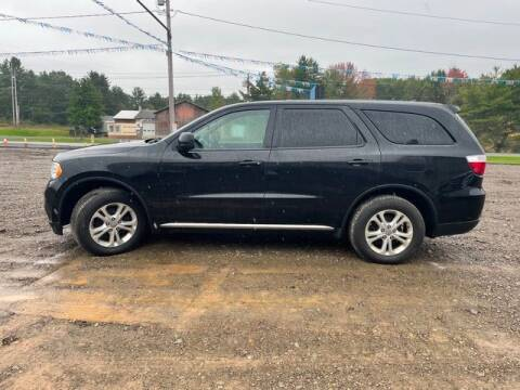2013 Dodge Durango for sale at Upstate Auto Sales Inc. in Pittstown NY