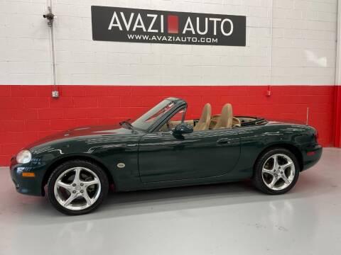 2001 Mazda MX-5 Miata for sale at AVAZI AUTO GROUP LLC in Gaithersburg MD