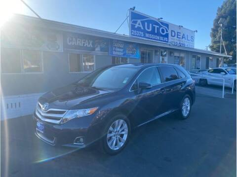 2015 Toyota Venza for sale at AutoDeals in Hayward CA