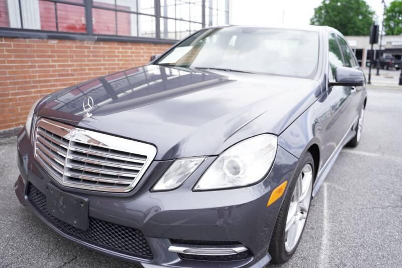 2013 Mercedes-Benz E-Class for sale at Atlanta's Best Auto Brokers in Marietta GA