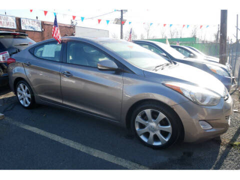 2012 Hyundai Elantra for sale at MICHAEL ANTHONY AUTO SALES in Plainfield NJ
