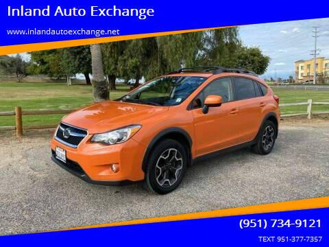 2014 Subaru XV Crosstrek for sale at Inland Auto Exchange in Norco CA