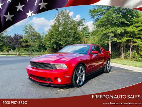 2010 Ford Mustang for sale at Freedom Auto Sales in Chantilly VA