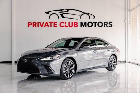 2019 Lexus ES 350 for sale at Private Club Motors in Houston TX