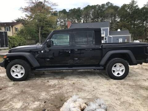 2020 Jeep Gladiator for sale at J Wilgus Cars in Selbyville DE
