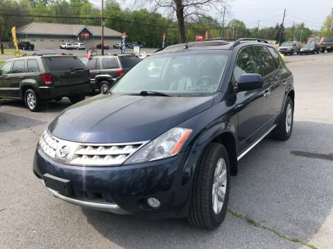 2007 Nissan Murano for sale at Noble PreOwned Auto Sales in Martinsburg WV