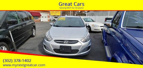 2016 Hyundai Accent for sale at Great Cars in Middletown DE