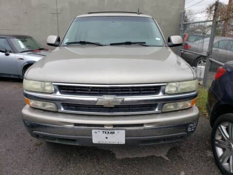 2003 Chevrolet Suburban for sale at Carzready in San Antonio TX