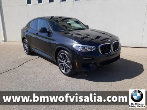 2021 BMW X4 for sale at BMW OF VISALIA in Visalia CA