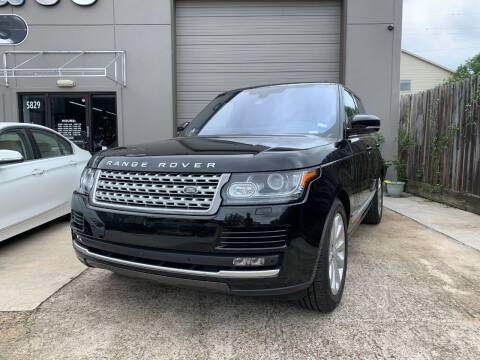 2016 Land Rover Range Rover for sale at PARK PLACE AUTO SALES in Houston TX