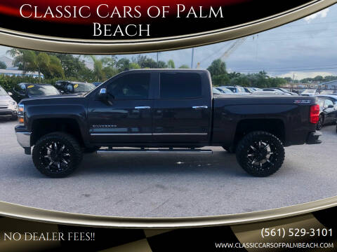 2014 Chevrolet Silverado 1500 for sale at Classic Cars of Palm Beach in Jupiter FL