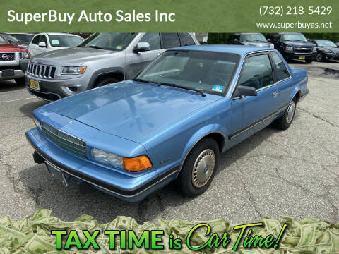 1989 Buick Century for sale at SuperBuy Auto Sales Inc in Avenel NJ