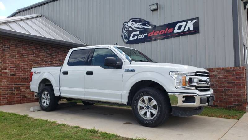 2019 Ford F-150 for sale at Car Deals OK in Oklahoma City OK