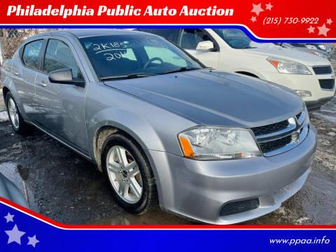 2014 Dodge Avenger for sale at Philadelphia Public Auto Auction in Philadelphia PA