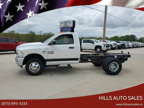 2018 RAM Ram Chassis 3500 for sale at Hills Auto Sales in Salem AR