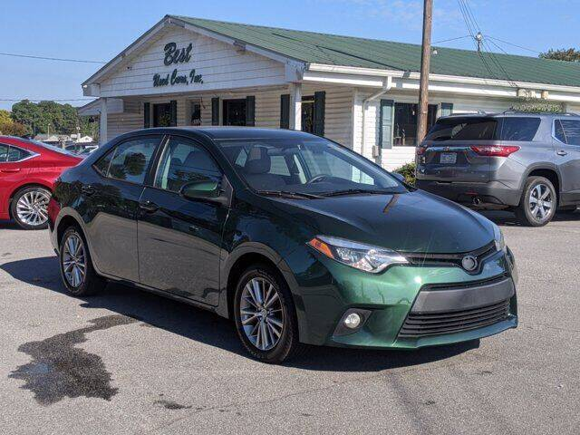 2014 Toyota Corolla for sale at Best Used Cars Inc in Mount Olive NC