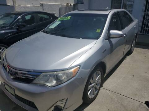2012 Toyota Camry Hybrid for sale at Express Auto Sales in Los Angeles CA