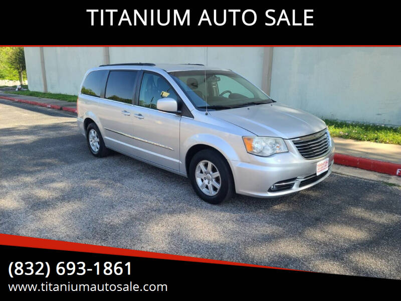 2012 Chrysler Town and Country for sale at TITANIUM AUTO SALE in Houston TX